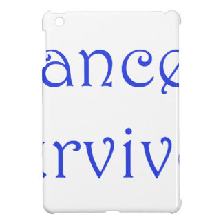 Cancer Survivor-Blue iPad Mini Covers