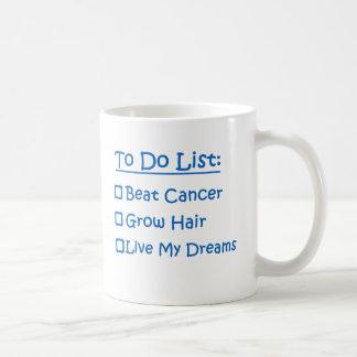 Cancer Survivor To Do List Coffee Mug