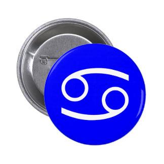 Cancer Symbol 6 Cm Round Badge