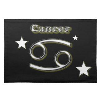 Cancer symbol place mats
