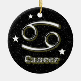 Cancer symbol round ceramic decoration