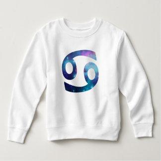 Cancer Symbol Toddler Fleece Sweatshirt