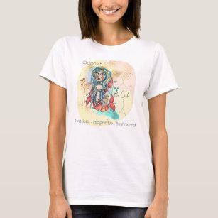 Women's Crab T Shirt Cancer Zodiac Beach