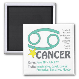 Cancer Traits Magnet
