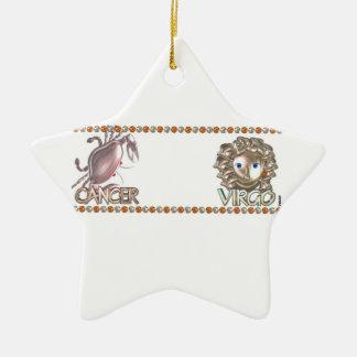 Cancer Virgo astrology friendship Ornaments