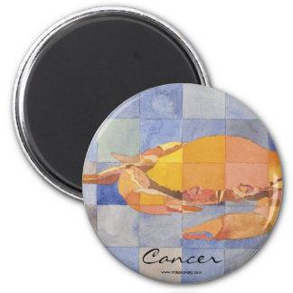 Cancer Zodiac 6 Cm Round Magnet