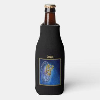 Cancer Zodiac Astrology design Bottle Cooler