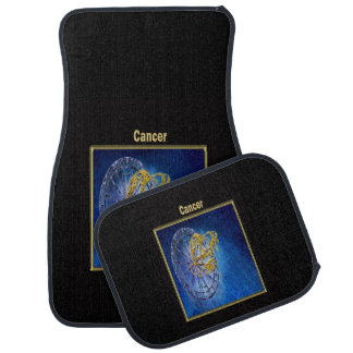 Cancer Zodiac Astrology design Car Mat
