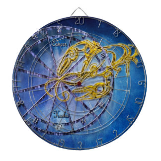 Cancer Zodiac Astrology design Horoscope Dartboard