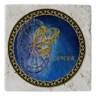 Cancer Zodiac Astrology design Horoscope Trivet