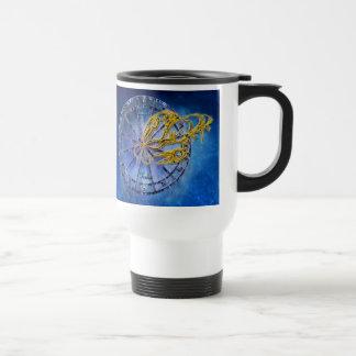 Cancer Zodiac Astrology design Travel Mug