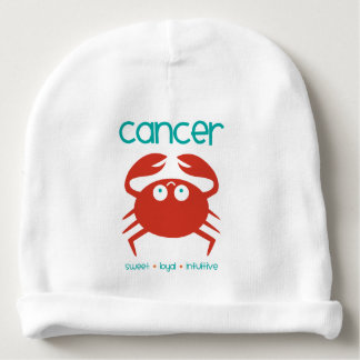 Cancer Zodiac Baby Beanie