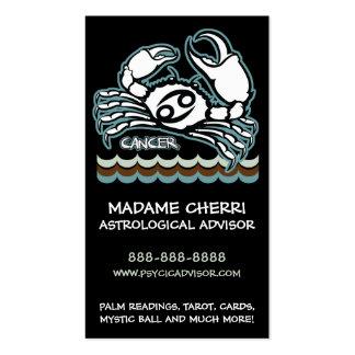 Cancer Zodiac Business cards
