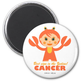 Cancer Zodiac for kids Magnets