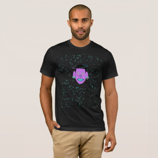 Cancer Zodiac Galactic Dream T-Shirt Black