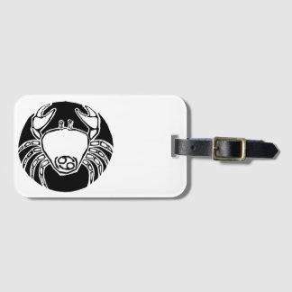 Cancer - Zodiac Luggage tag