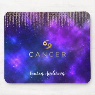 Cancer Zodiac Sign Computer Mousepad