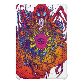 Cancer Zodiac Sign iPad Mini Cover