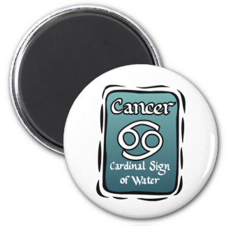Cancer zodiac sign magnet