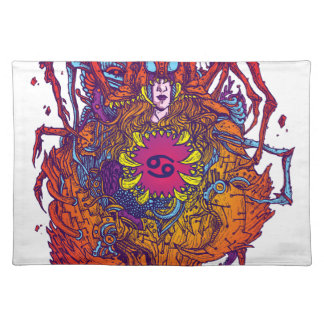 Cancer Zodiac Sign Placemat