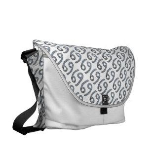 Cancer Zodiac Symbol Element Messenger Bags