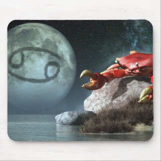 Cancer Zodiac Symbol Mouse Pad