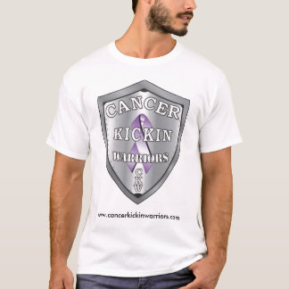 cancerkickinwarriors-logo-LARGE, www.cancerkick... T-Shirt
