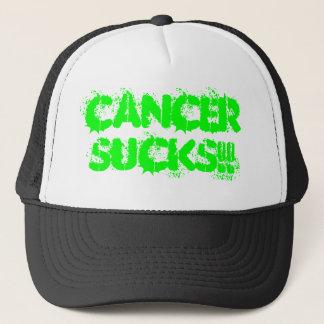CANCERSUCKS!! TRUCKER HAT