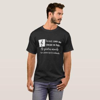 cancion en ingles tshirt
