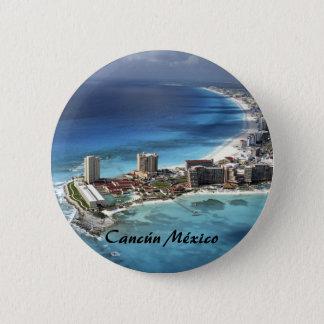 cancun1 6 cm round badge