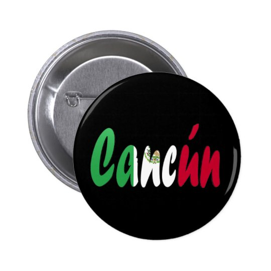 Cancun, Mexico 6 Cm Round Badge