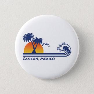 Cancun Mexico 6 Cm Round Badge