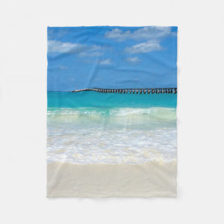 Cancun Mexico Beach Fleece