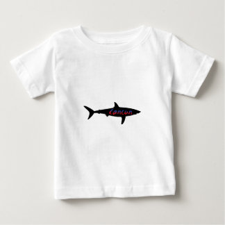 Cancun Mexico Shark Baby T-Shirt