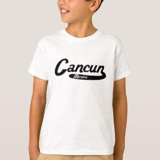 Cancun Mexico Vintage Logo T-Shirt