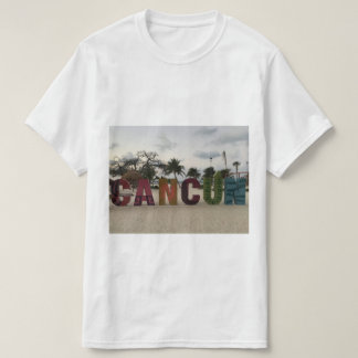 Cancun Sign – Playa Delfines, Mexico T-shirt