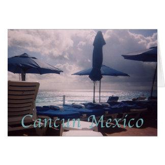 Cancun Warm  Romantic Sunset Card