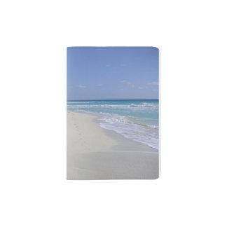 Cancun Waves/Beach Passport Holder