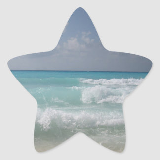 Cancun Waves Sticker