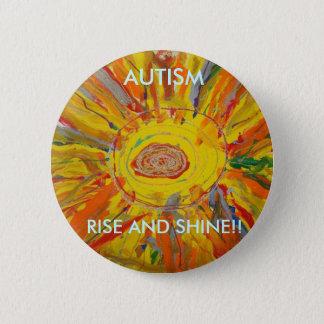 Candace's Autism Art Button