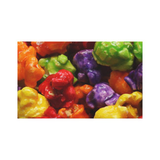 Candied Popcorn Canvas Print