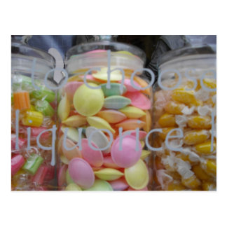 CANDIES ASHBOURNE POSTCARD
