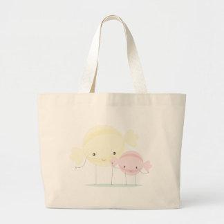 candies large tote bag