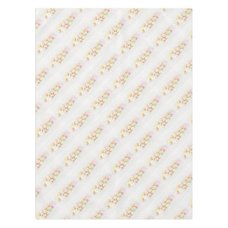 Candies marshmallows tablecloth