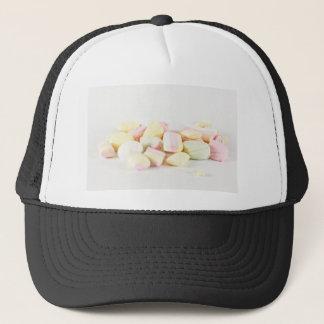 Candies marshmallows trucker hat