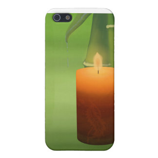 Candle and Bamboo Cover For iPhone 5/5S