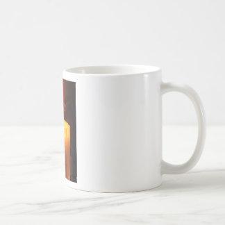 Candle Basic White Mug