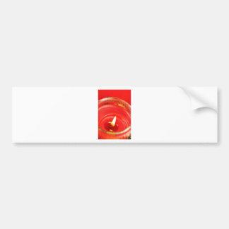 Candle Bumper Sticker