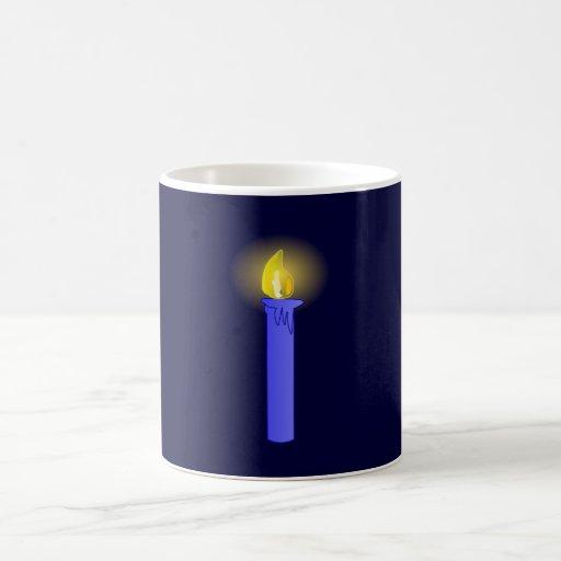 Candle candle coffee mug