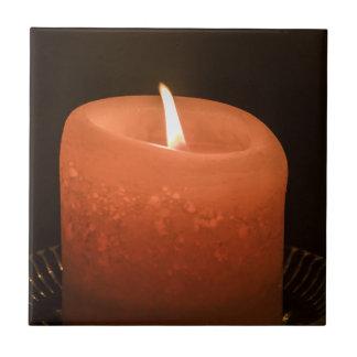 Candle Ceramic Tile